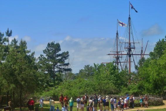 Jamestown Settlement James River Virginia