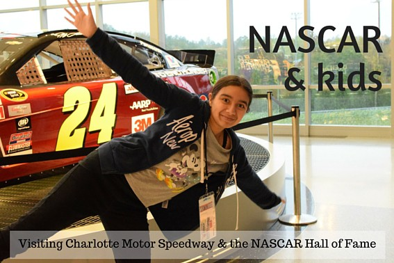 Nascar and kids what to do when the cars aren 39 t racing at for Charlotte motor speedway driving school