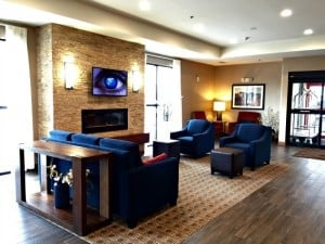 Sioux Falls Comfort Inn and Suites Lobby