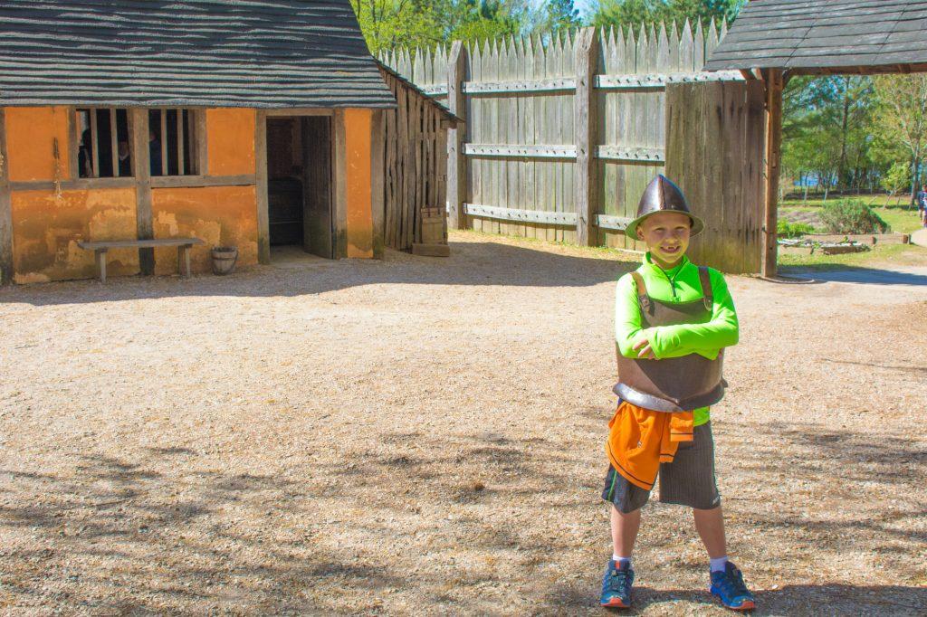 Jamestown Settlement in Williamsburg