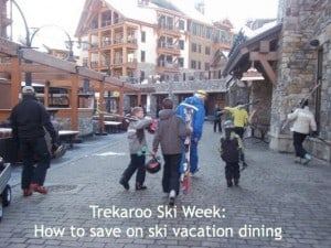 top ski dining tips
