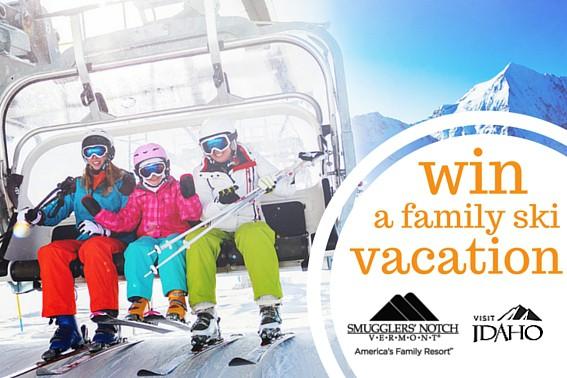 win a family ski vacation