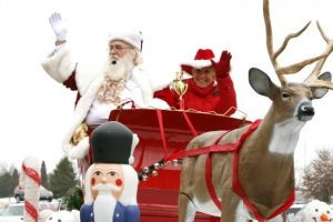 Santa Claus Christmas Parade Indiana
