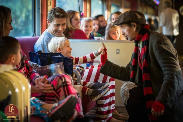 Christmas events in Northern California include train rides with Santa