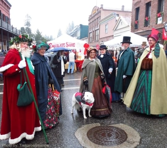 Northern California Christmas events