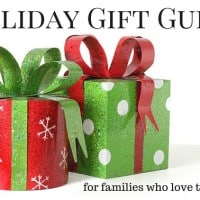 Holiday Gift Guide: gifts for families who love to travel