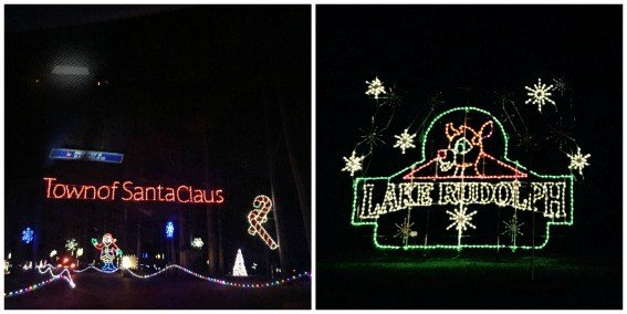 Lake Rudolph Holiday Lights Santa Claus Indiana 2