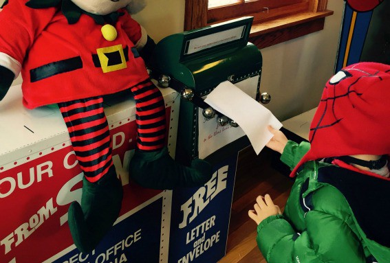 Mailing Letter Santa Claus Indiana