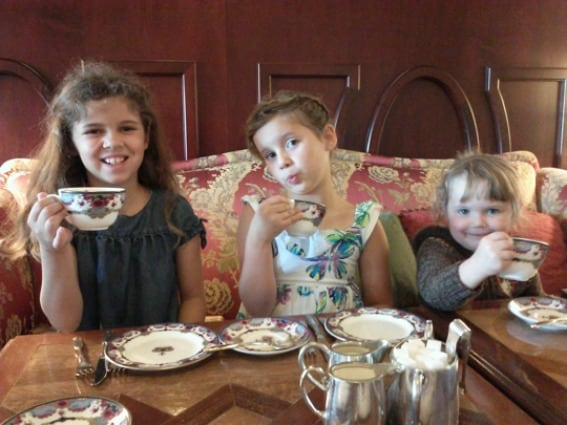 Take afternoon tea at the historic Fairmont Empress in Victoria Canada