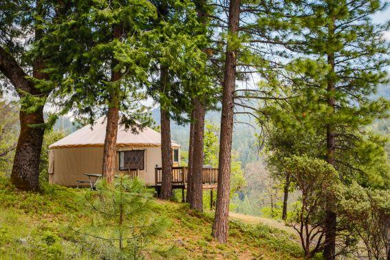 yosemite yurt