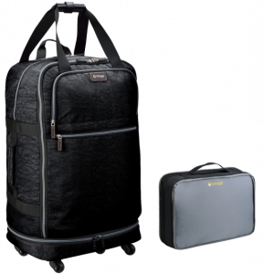 "Biaggi's 31"" Foldable Spinner Duffle"
