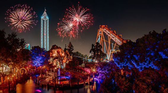 Knotts Berry Farm Fireworks New Year's Eve