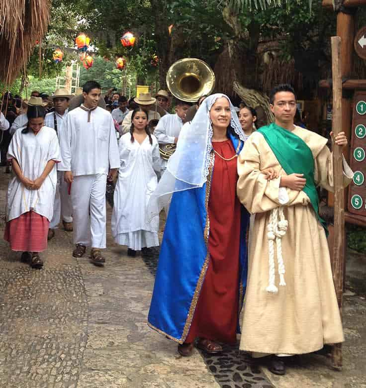 Christmas in Cancun Xcaret