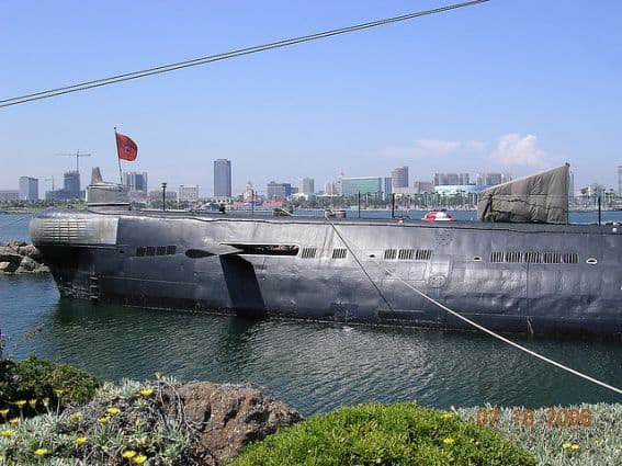Tour the Russian Submarine in Long Beach, CA