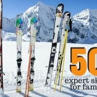 50+ expert ski tips for families