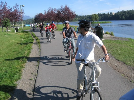 Biking The Tony Knowles Coastal Trail what is there to do in Anchorage