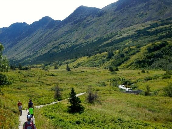 Chugach State Park Anchorage Alaska
