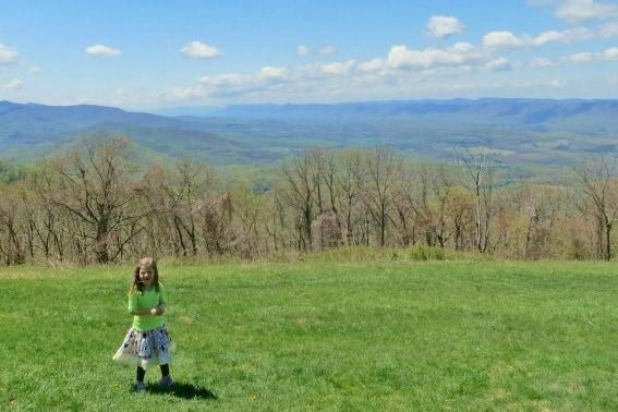 Dickey Ridge Visitor Center Viewpoint Shenandoah National Park