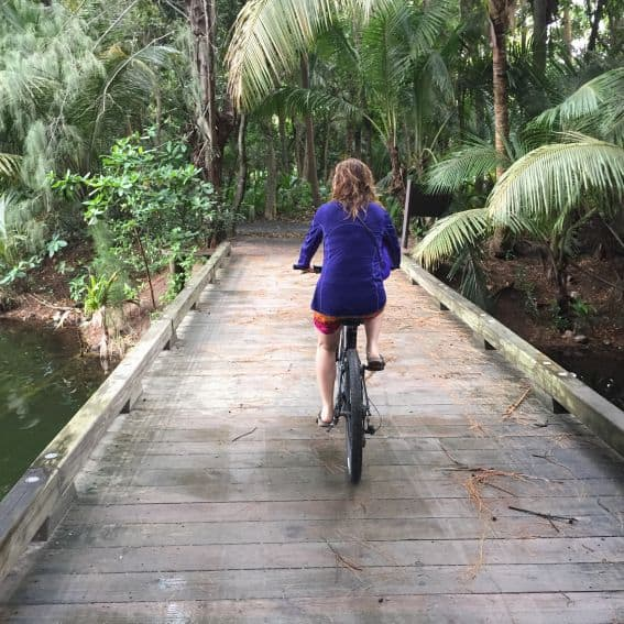 Biking in St. Regis Puerto Rico