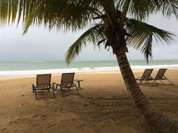 Beach at St. Regis Puerto Rico