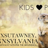Punxsutawney, PA with Kids for Groundhog's Day
