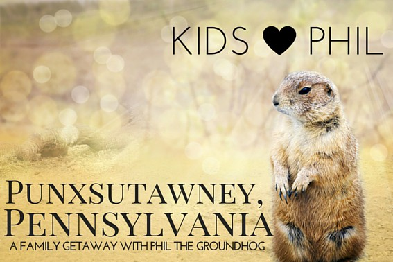Punxsutawney, PA with Kids for Phil the Groundhog's Day