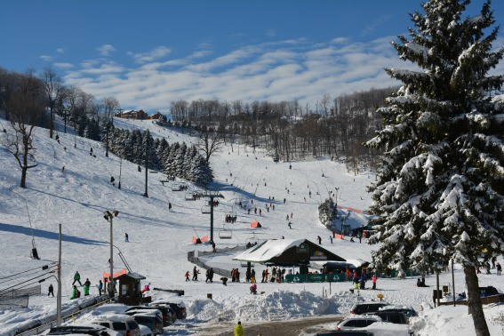 6cad3fc5c0b7 Ski School at Seven Springs Resort. Looking for things to do in Western PA   A Pennsylvania vacation tubing and skiing at