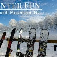 Winter Fun for Families in Beech Mountain, North Carolina