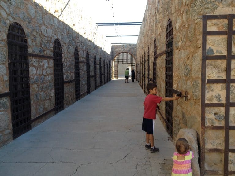 things-to-do-in-yuma include a visit to the Territorial Prison