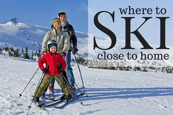 where to ski close to home