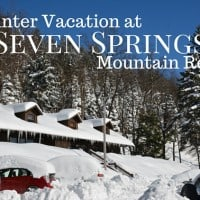 A winter vacation at Seven Springs Mountain Resort