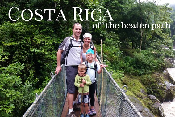 Costa Rica- Off the beaten path with kids