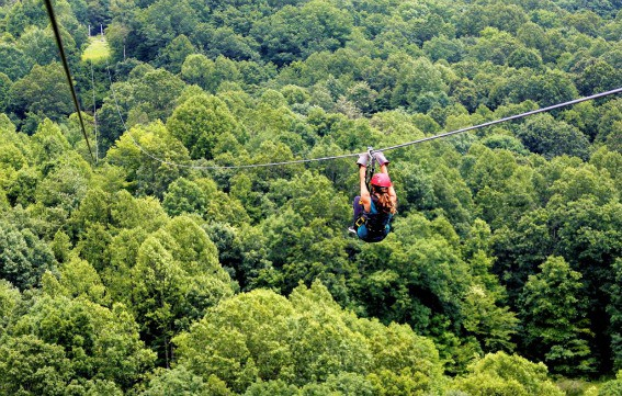 Gravity Zipline Adventures on the Gorge