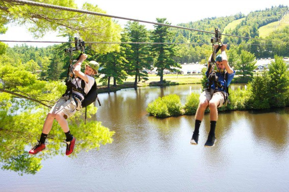 Gunstock Mountain Resort Zipline