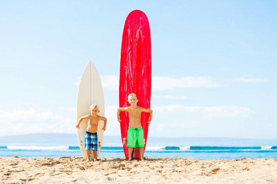 Top Ten Things For Families to Do in Hawaii