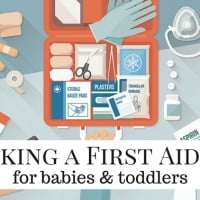 Packing a First Aid Kit for Babies & Toddlers
