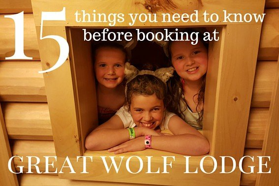 15 things you need to know before booking at great wolf lodge
