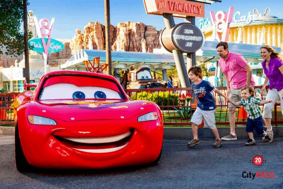 CityPass Disney California Adventure Logo