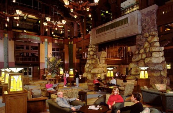 Disney's Grand California Hotel provides direct access to Disney California Adventure