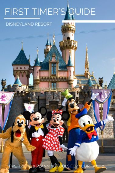 FIRST TIMER'S GUIDE Disneyland Tips for newbies