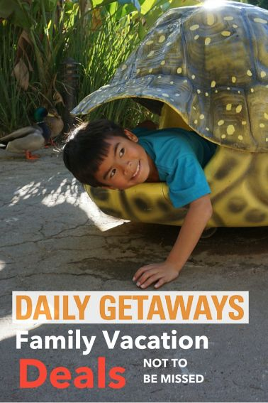 Daily Getaways: Family Vacation Deals Event. Snag up to 60% off popular travel brands for 5 weeks.