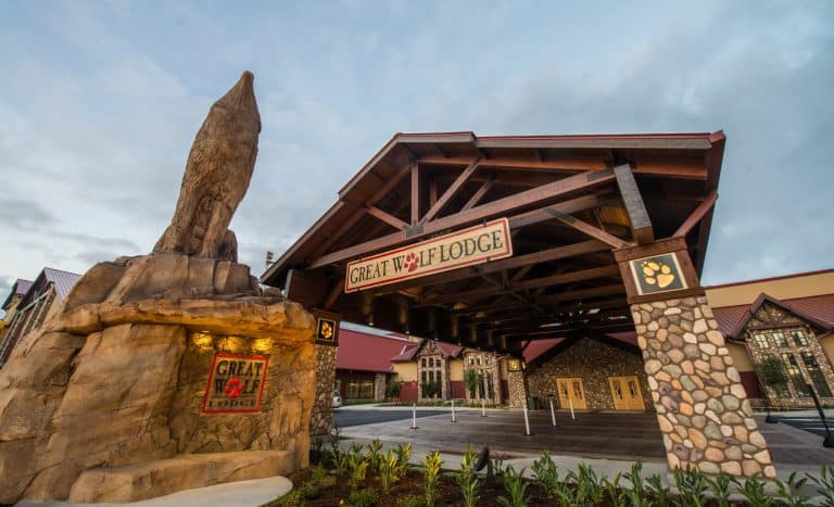 Arrive at Great Wolf Lodge early to get the most access to the resort's amenities