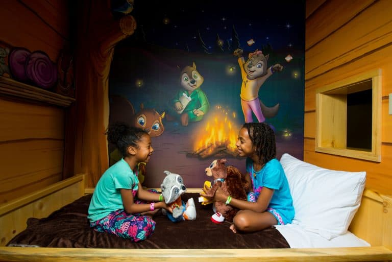 Great Wolf Lodge tips on rooms - consider upgrading to a themed room that interacts with Great Wolf Critters