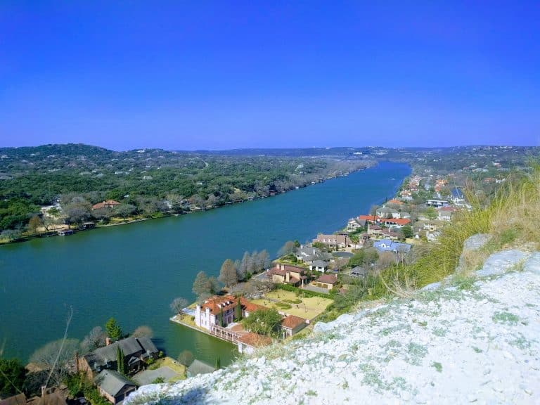 Fun Things to Do in Austin with Kids include Mount Bonnell