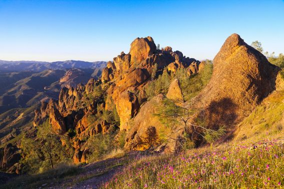 PINNACLES national park is our country's latest park. Explore the outdoor adventures in Monterey County, including this fabulous park perfect for adventure loving families.