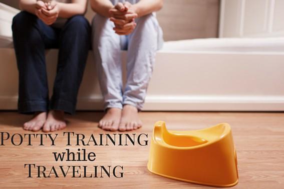 Potty Training while Traveling