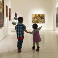 SMART Museum in Chicago offers free family programs once a month.