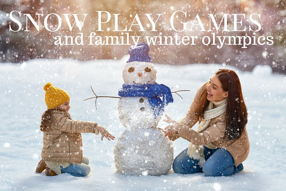 Snow Play Games and family winter olympics