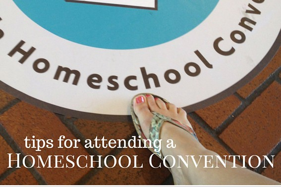 Tips for making the most attending a homeschool convention with our family.