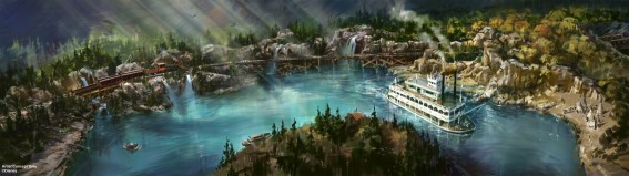 rivers of america's new look in preparation for star wars land